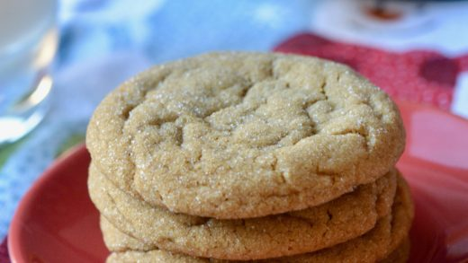 Ginger Mollasses Cookies