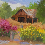 Barbara.Donahue_ Old Payson Barn_Oil Painting
