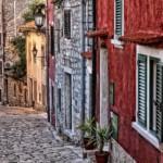 Croatia city street