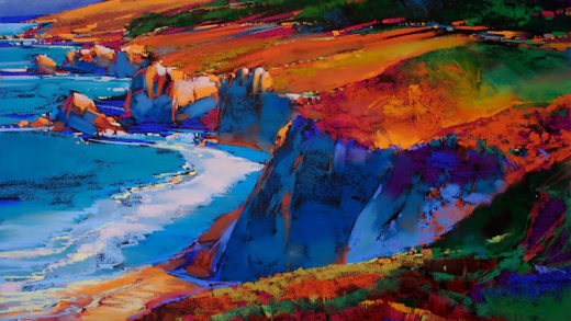 "Painting ""Big Sur"""