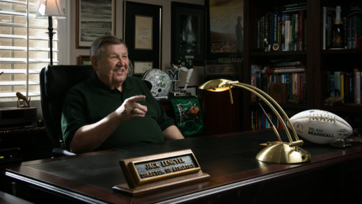 Jack Lengyel in office