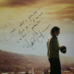 Signed poster to Jack Langyel from Matthew Mcconaghey