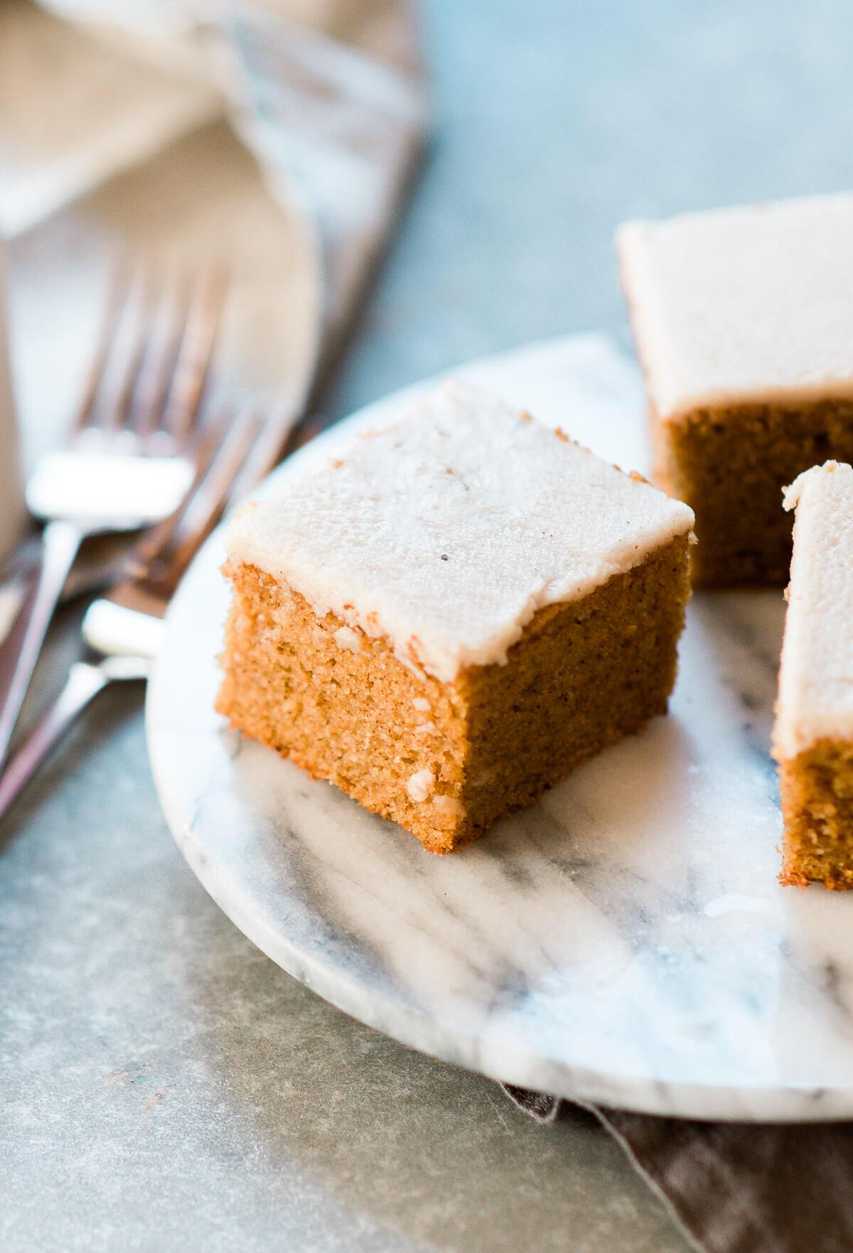 Paleo Pumpkin Cake with Maple Frosting - Images Arizona