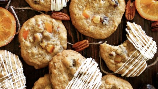 Chewy Orange Date Cookies