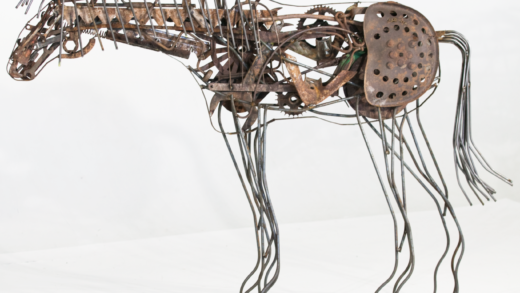Turning Old Machinery and Pianos Into Art