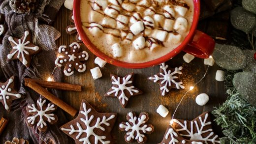 Mexican Hot Chocolate & Spiced Cookies