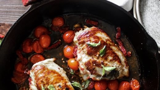 Caprese Stuffed Chicken Breast