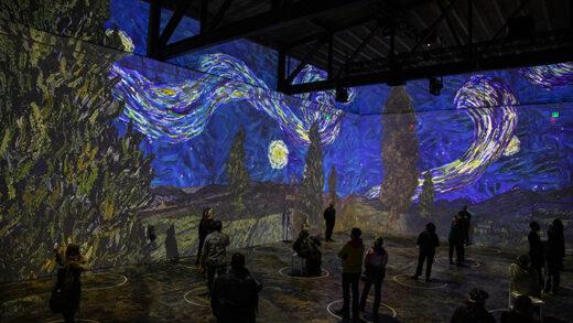 Immersive Van Gogh: An Illumination of Artistic Genius